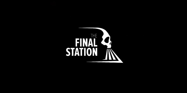 The Final Station logo locomotive