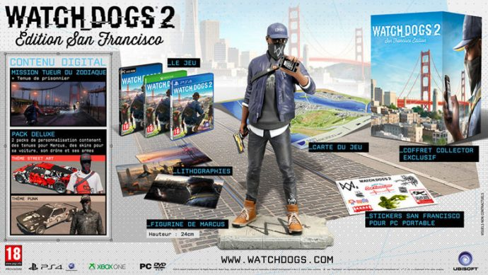Edition San Francisco Watch_Dogs 2