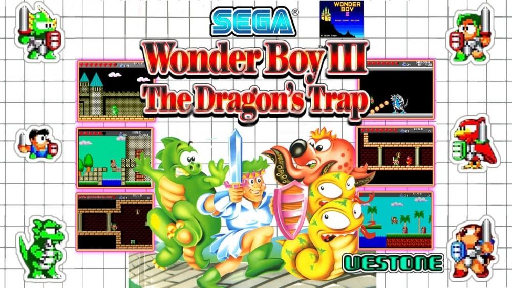 Wonder Boy 3 couverture Master System