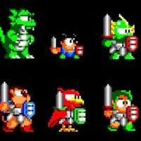 Wonder Boy III personnages