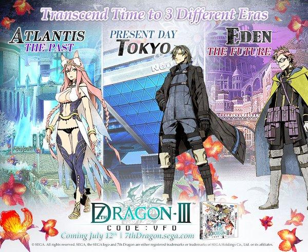 7th Dragon III Code VFD 3 époques