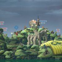 Décors de verdure Worms WMD