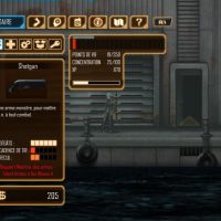 Dex menu armes