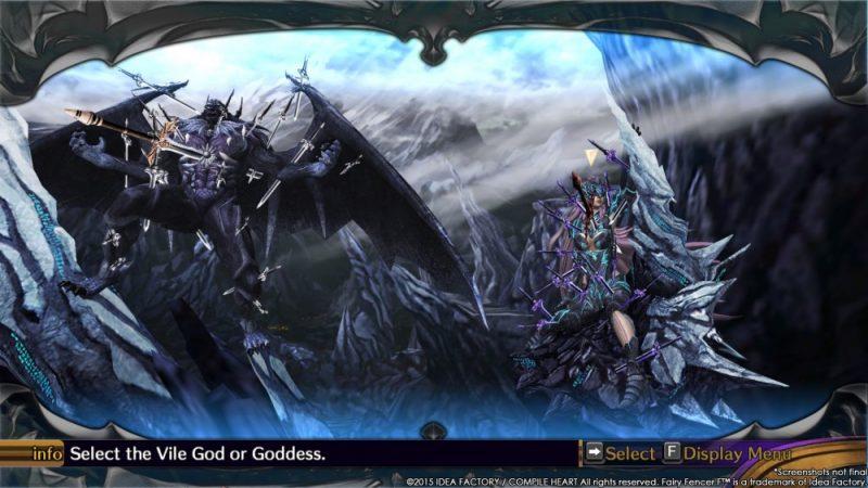 Fairy Fencer F: Advent Dark Force God
