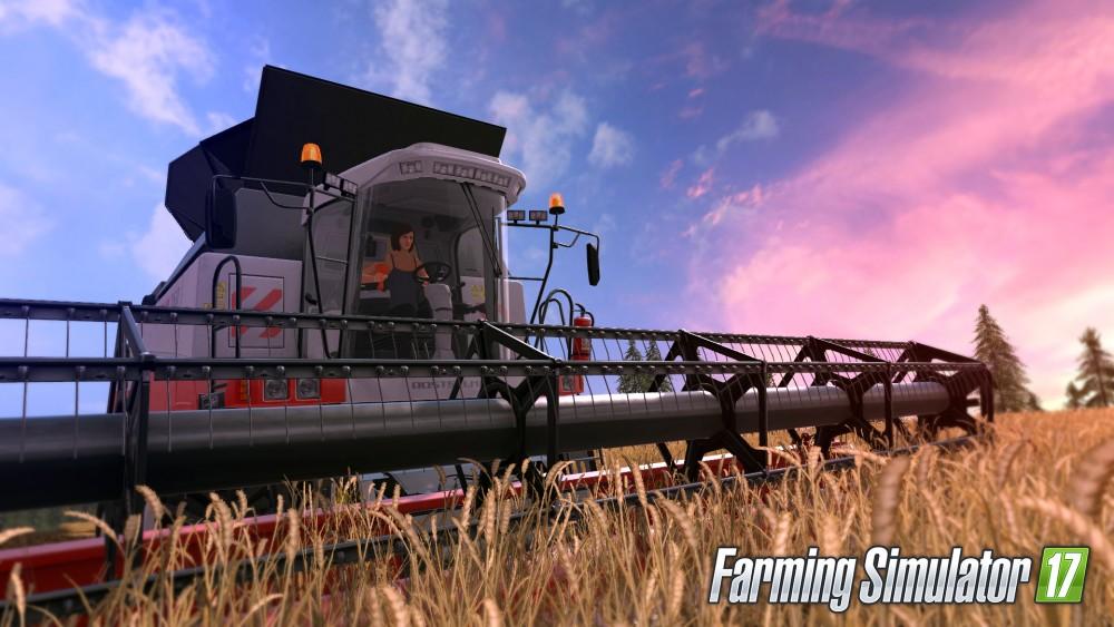 Farming simulator 17 moissoneuse