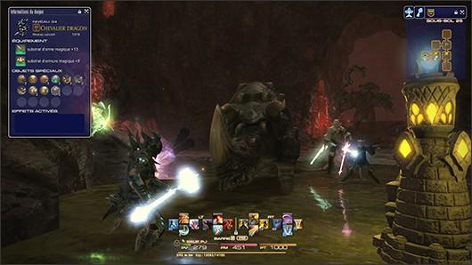 Final Fantasy XIV MAJ le palais des morts