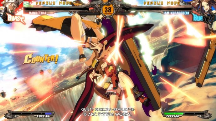 Guilty Gear Ramlethal et Jam