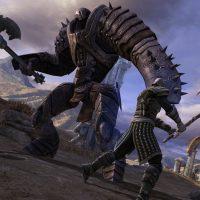 Infinity Blade combat contre un géant