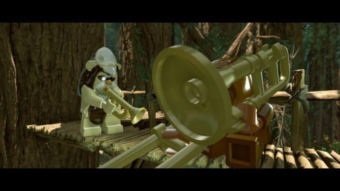 LEGO Star Wars Le réveil de la Force ewoks musiciens