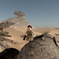 Rey sur Jakku LEGO Star Wars Le réveil de la Force