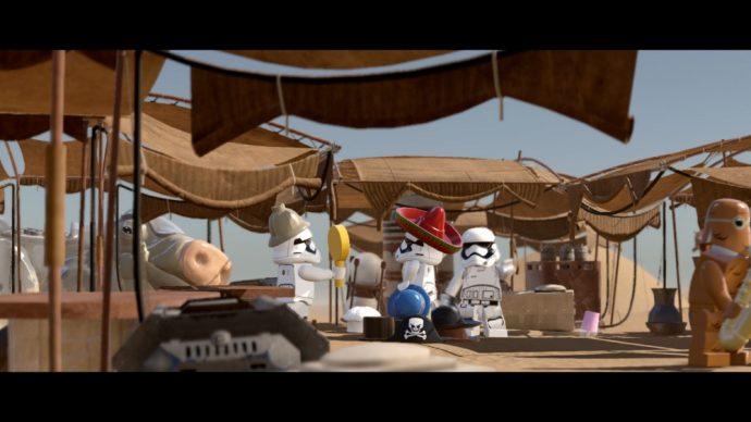 LEGO Star Wars Le réveil de la Force Stormtroopers mariachi