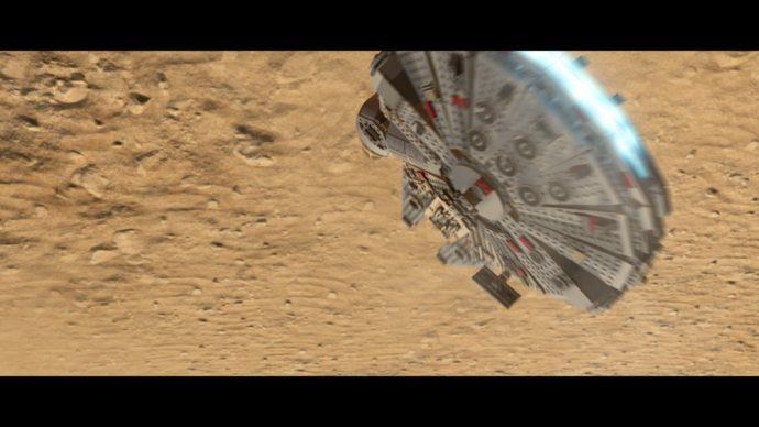 LEGO Star Wars Le reveil de la Force Faucon Millénium