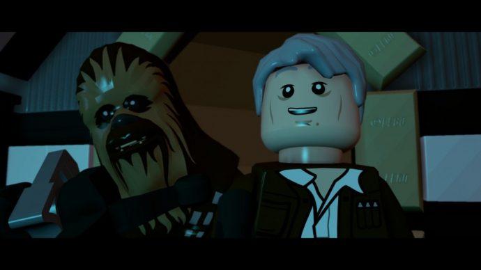 LEGO Star Wars Le reveil de la Force chewbacca Han Solo