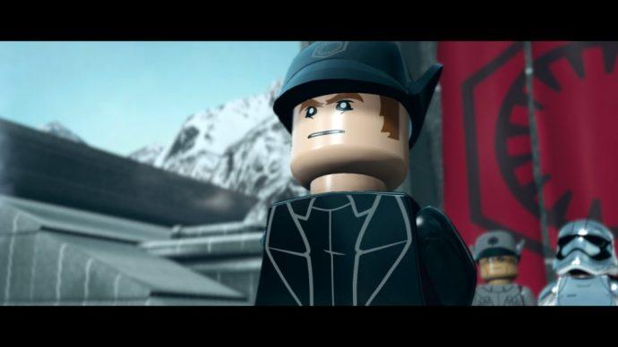 LEGO Star Wars Le réveil de la Force Capitaine Hux