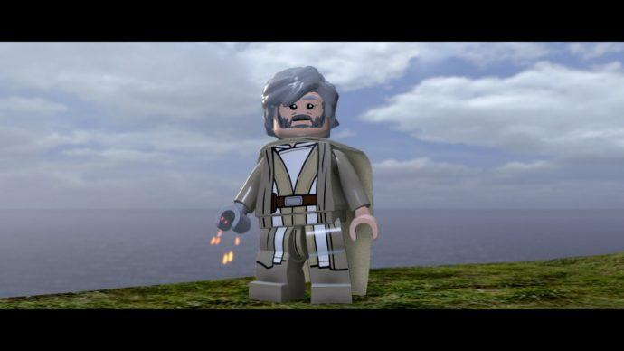 LEGO Star Wars Le reveil de la Force Luke Skywalker