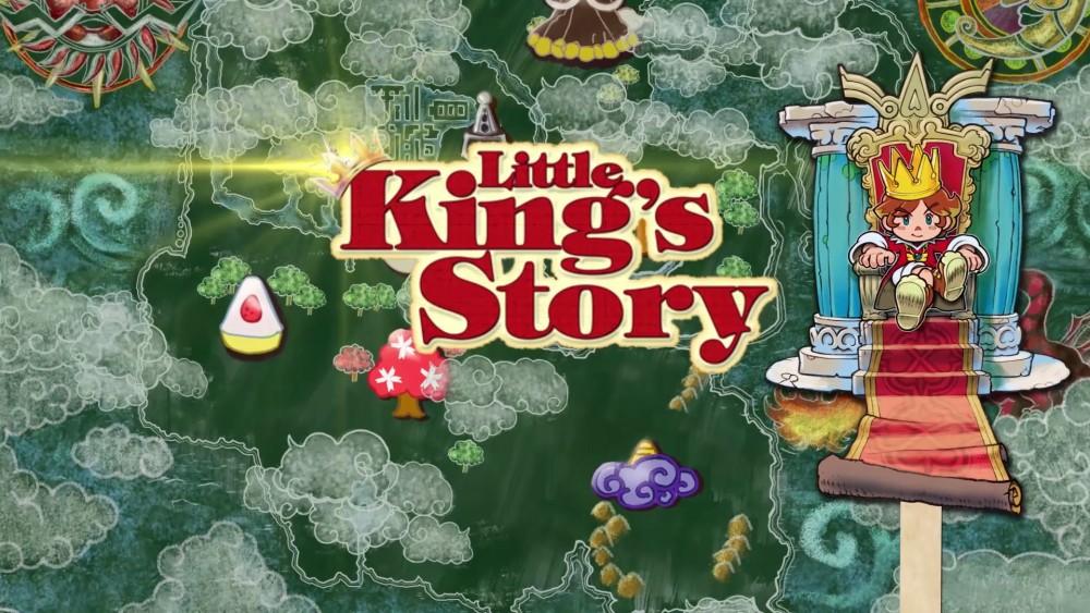Little's King Story logo titre