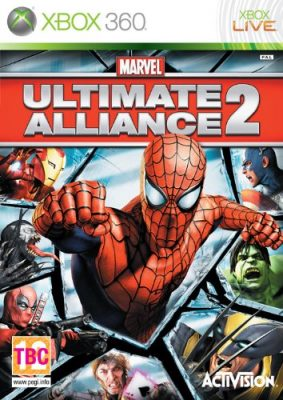Marvel Ultimate Alliance 2 jaquette Xbox 360