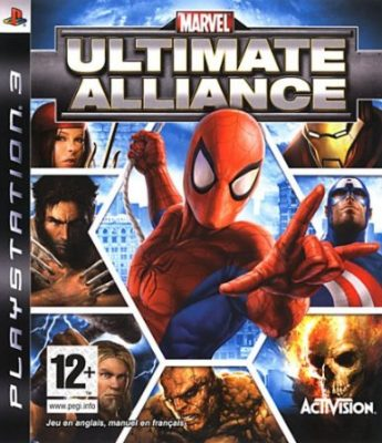 Marvel Ultimate Alliance jaquette PS3