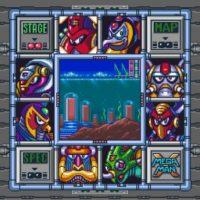 Mega Man X tableau de Boss
