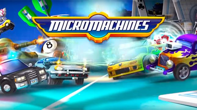 Micro Machines logo