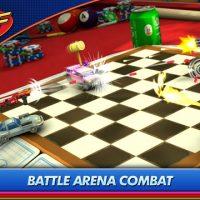 Micro Machines mode combat en arène