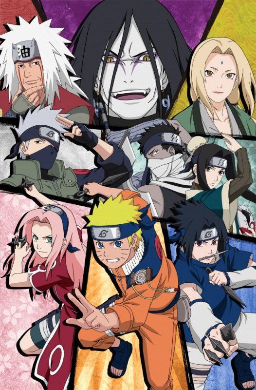 Naruto Shippuden Ultimate Ninja Blazing artwork
