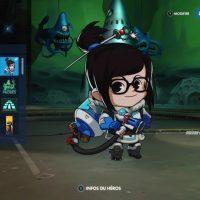 Un tag de Mei dans Overwatch