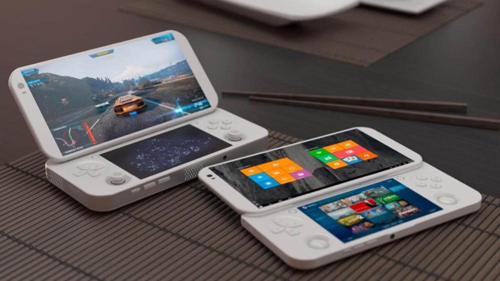 pgs la console portable pour jeux pc sous windows 10. Black Bedroom Furniture Sets. Home Design Ideas