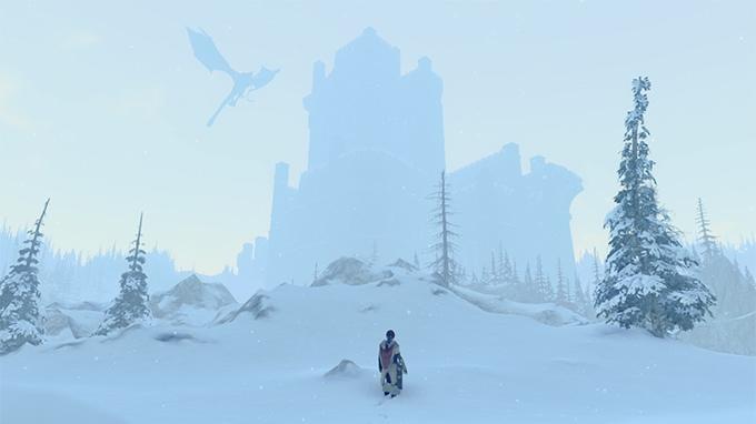 Prey for the Gods chateau sous la neige