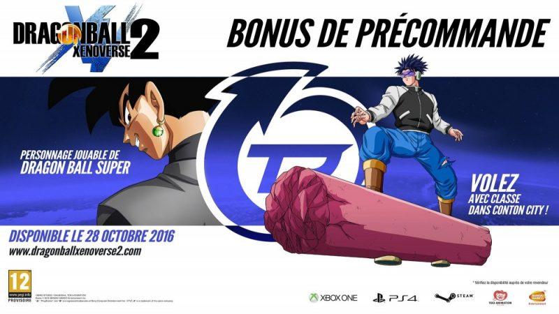 Dragon Ball Xenoverse 2 Bonus précommande