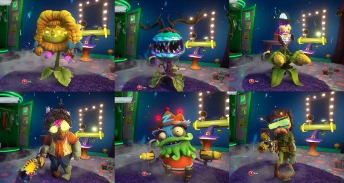 Plants vs Zombies Gardern Warfare 2 nouveaux personnages