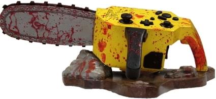 Resident Evil 4 manette tronceneuse