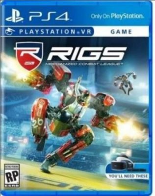 Rigs jaquette PlayStation VR