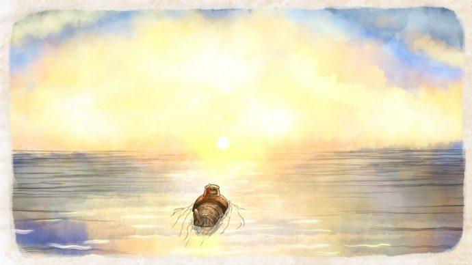 Merryn part en sous marin song of the deep