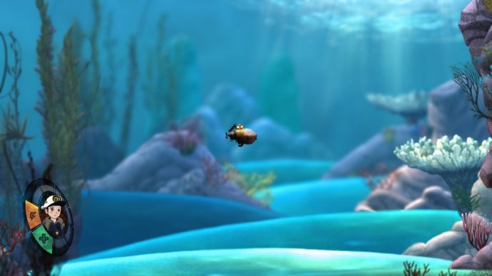 Le sous marin de Song of the deep - bilan 2016