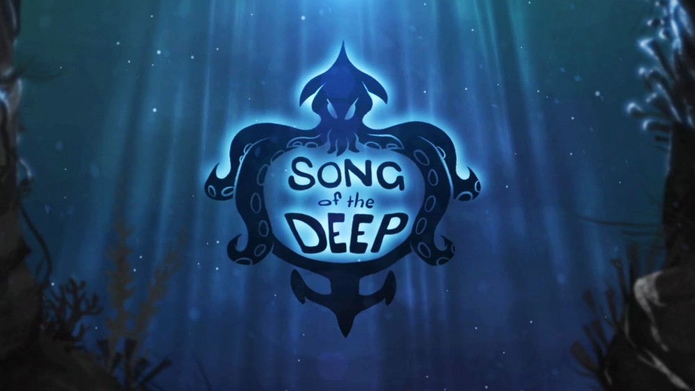 Song of the deep écran titre