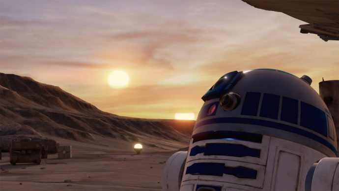 Star Wars Trials on Tatooine R2D2