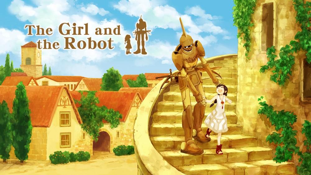 La fille et le robo