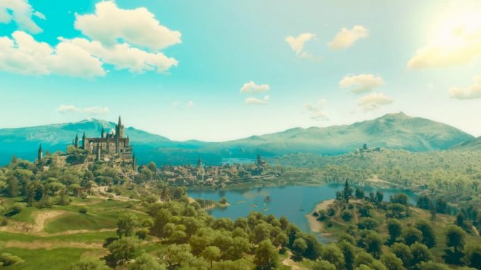 The Witcher 3 Blood and Wine - Région de Toussaint