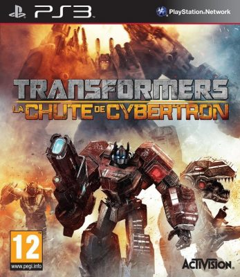 Transformers La Chute de Cybertron jaquette PS3