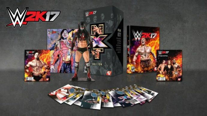 WWE 2K17 NXT Edition collector