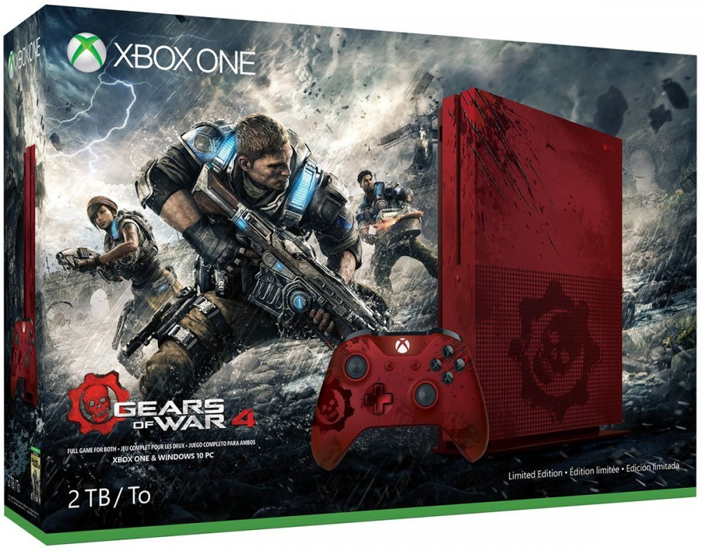 Xbox One S Collector Gears of War 4