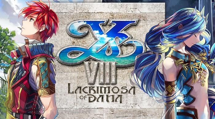 Ys VIII: Lacrimosa of Dana bannière