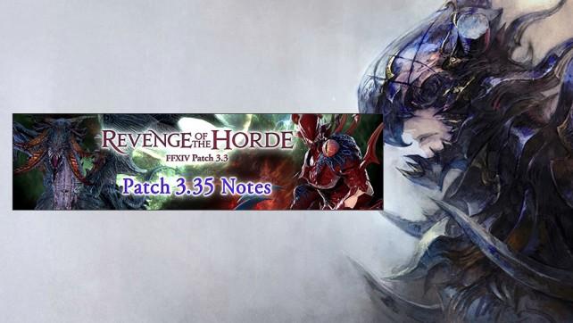 Final Fantasy mise à jour 3.35
