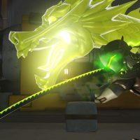 Genji et le dragon d'Hanzo dans Overwatch