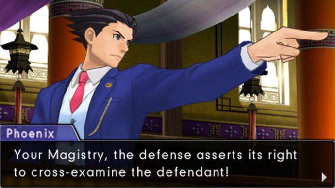 Phoenix Wright Objection