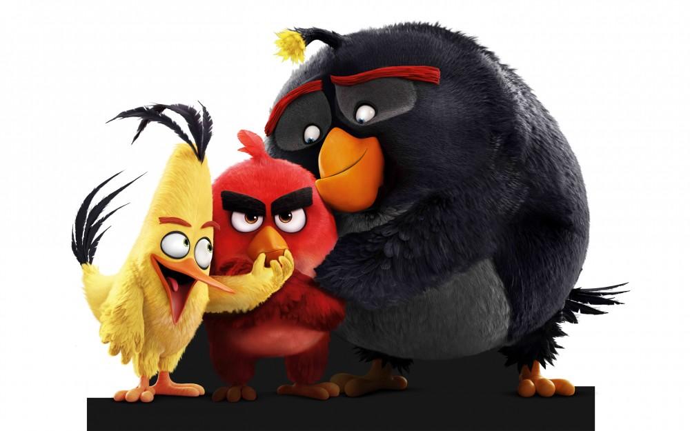 Angry Birds trois oiseaux