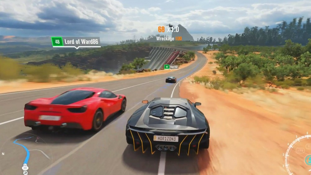forza horizon 3 un d fil de voitures dans le nouveau trailer lightningamer. Black Bedroom Furniture Sets. Home Design Ideas
