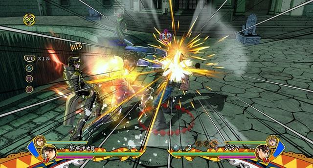 JoJo scène de combat