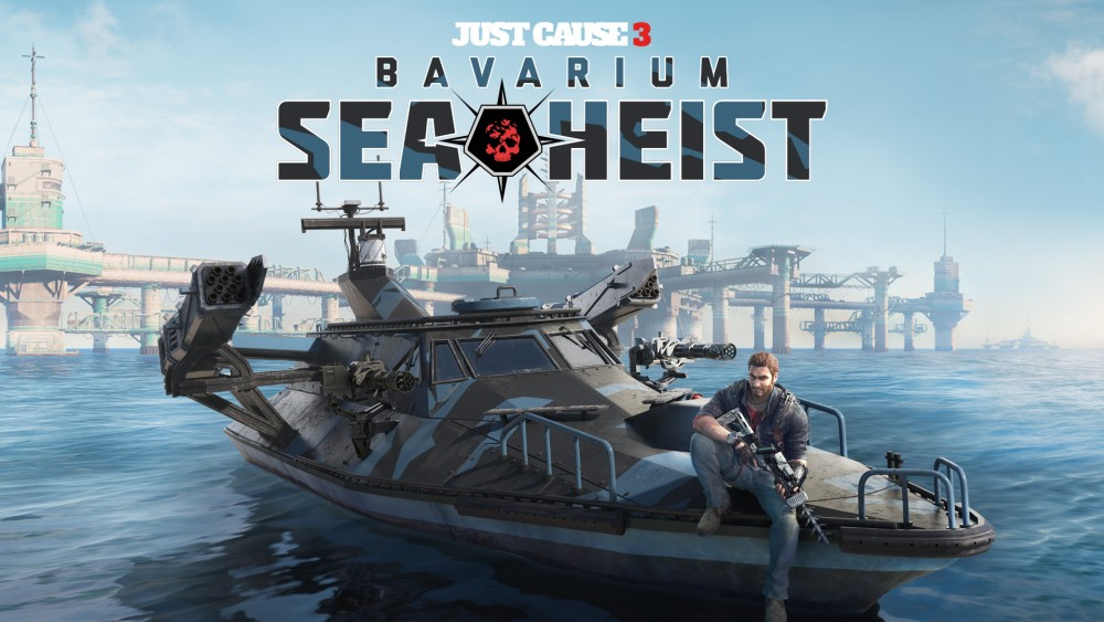 affiche Just Cause 3: Bavarium Sea Heist